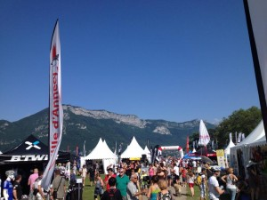 Bib Registration in Annecy on Saturday