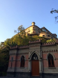 The castle in the middle of Bosque de Chapultepec