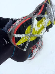 The YakTrax Run in action