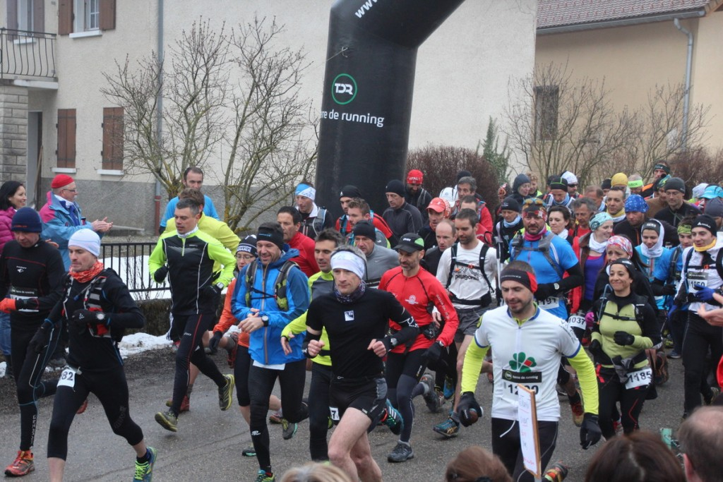 C'est parti! The race start as both 10k and 20k runners start the race. Courtesy of the race website.