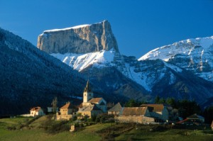 Unfortunately I couldn't photograph the iconic Mt Aiguille today, so here's a photo from better days. Courtesy eupedia.com