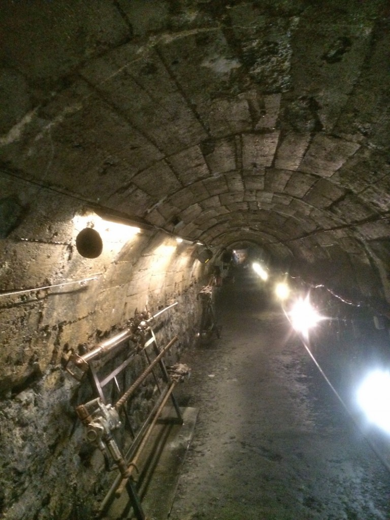 Running through the old mineshafts
