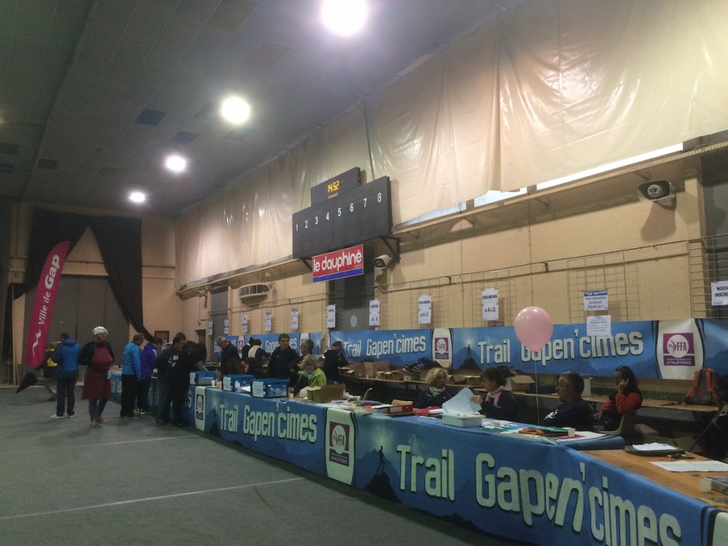Bib collection on Saturday - like most things in France connected to paperwork, it wasn't straightforward