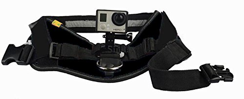 Qumox Fetch dog harness with camera mount